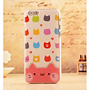 Buy Colorful Cartoon Cat Style Plastic Hard Back Cover iPhone 6