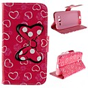 Bowknot Design PU Leather Full Body Protective Case with Stand for Samsung Galaxy Core 2 G3556D/G355H