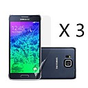 (3 pcs)High Definition Screen Protector for Samsung Galaxy Alpha G850