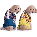 Dog Shirt / T-Shirt / Clothes/Clothing Blue / Yellow Winter Classic Cosplay