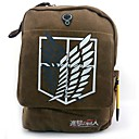 Buy Attack Titan Freedom Wings Pattern Brown Canvas Cosplay Backpack Bag