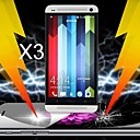 Ultimate Shock Absorption Screen Protector for HTC One M7 (3 PCS)