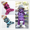 Stylish Ski Jacket with Hood for Pet Dogs (Assorted Colors and Assorted Sizes)