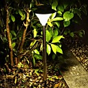 Outdoor LED Solar Powered Lawn Pin Night Lamp