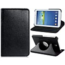 360-degree Rotation Faux Leather Flip Case for Samsung Galaxy Tab 4 7.0