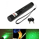lt-G303 justerbar fokus grøn laser pointer (5mW. 532nm. 1 * 18650.black)