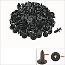 Buy 10Plastic Screw Panel Push Fastener Rivet Bumper Clips