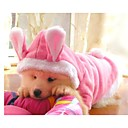 Dog Coat / Sweater / Hoodie Pink Spring/Fall Animal / Cartoon Cosplay