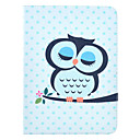 Cute Owl Cartoon Pattern Full Body Leather Case Cover with Stand  for Samsung Tab 4 10.1 T530