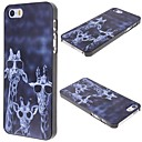 Cartoon Giraffe Pattern Back Case for iPhone 5/5S