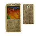 Metal Grid Pattern PU Leather Full Body Case with Card Slot for Samsung Galaxy Note 3 (Assorted Colors)