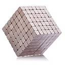 Buy Magnet Toys 215mm Neodymium Executive Puzzle Cube DIY Magnetic Balls Silver Education Gift