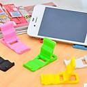 Universal Plastic Folding Stand for Samsung iPhone Cellphone(5 PCS Random Color)