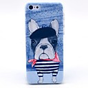 Buy Striped T-shirt Happy Dog Pattern Hard Cover Case iPhone 5C