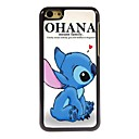ohana significa hard case de alumínio design para iphone 5c