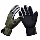 Buy Trulinoya Waterproof Anti-Slip Breathable Fishing Gloves Army Green Color