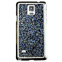 Diamond Back casos de la cubierta brillantes para Samsung Galaxy Note 4 (colores surtidos)