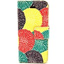 Buy Sun Flower Pattern PU Leather Full Body Case Card Slot Stand iPhone 5C