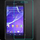 (0.3mm Thin,9H Hardness)2.5D Rounded Edges Tempered Glass Film Screen Protector for Sony Xperia M2