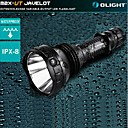 Olight M2X-UT Javelot 3-Mode Cree XM L2 LED Flashight (1020LM,2x CR123A\1x18650 ,Black)
