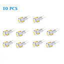 10 pcs G4 3 W 6 SMD 5730 220 LM Warm White / Cool White Spot Lights AC 12 V