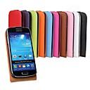 Kemile luxury Newest Slim Flip Phone Cover Casefor Samsung Galaxy S4 mini i9190  (Assorted Colors)