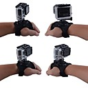 360 Degree Rotating Small Size Band Glove Style Wrist Strap Hand Mount with Thumb Screw for GoPro Hero 4/3+/3/2