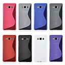 Teléfono Móvil Samsung - Cobertor Posterior - Color Sólido - para Samsung Galaxia A3 ( Negro/Blanco/Rojo/Azul/Rosado/Gris/Púrpura , TPU )
