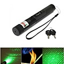Flashlight Shaped - Green Laser Pointer - Aluminum Alloy