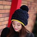 Women Cute Winter Wool Blends Beanie/Slouchy Hat