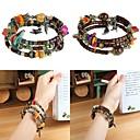 Buy Shell Beads Retro Bohemian Style Agate Handmade String Bracelet Wrapped Women
