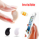 invisibile super mini cuffia v4.0 bluetooth senza fili stereo auricolare in-ear per iPhone 6 / 5s samsung s5 universale