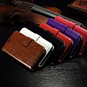 Buy Card Wallet Crazy Horse Pattern PU Leather Full Body Case Stand Slot Alcatel One Touch Pop C7