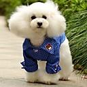 Dog T-Shirt - XS / S / M / L / XL / XXL - Summer - Blue - Wedding / Cosplay - Cotton