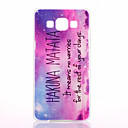 Buy Samsung Galaxy Case Pattern Back Cover Word / Phrase PC A5