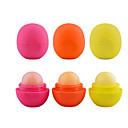 3GS 3PCS丸いボール保湿リップクリーム球リップポマードリップクリーム口紅飾ります
