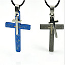 The Boy Cross Pendant Titanium Steel Necklace