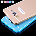 Mosidun  Aluminum Metal Bumper Frame with PC Back Cover Case for Samsung Galaxy A3 (Assorted Colors)