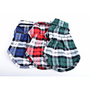 Classic Check Pattern Pet Shirt for Dogs and Cats (Assorted Colors and Sizes)
