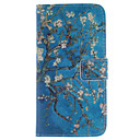 Apricot Blossom Design PU Leather Full Body Protective Case with Stand  for Samsung Galaxy Grand Prime G530 G530H G5308