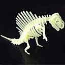 Buy Jigsaw Puzzles 3D Building Blocks DIY Toys Dinosaur ABS Ivory Model & Toy