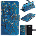 Apricot Blossom Design PU Leather Full Body Protective Case with Stand  for Samsung S3 I9300