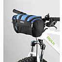 Torba na kierownicę roweru - Izolacja cieplna ( Szary/Dark Blue , 600D polyester ) 6 L Sport i rekreacja/Kolarstwo
