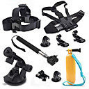 10-in-1 Sports Camera Accessories Kit for GoPro Hero 4/3/3+/SJ4000/SJ5000/SJCam/Xiaoyi