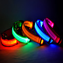Glow LED The Cat And Dog Collar 2 Pieces