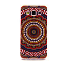 Buy Brown Mandala Flower Pattern ultrathin Emboss TPU Soft Back Cover Case Samsung Galaxy A3
