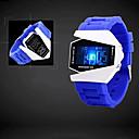 unisex horloge led-lampjes geven waterdichte lichten leven van d-1003 stijl (verschillende kleuren)