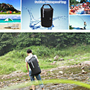 Nature hike Men's Travel Bags Multi - functional Rafting Water proof Bag Compression Sack Dry Bag 50L Black