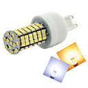 Buy Ding Yao G9 12W 144X SMD 3528 500-600LM 2800-3500/6000-6500K Warm White/Cool White Corn Bulbs AC 220-240V