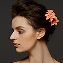 Buy Women's Alloy Polyester Headpiece-Wedding Special Occasion Hair Pin 1 Piece